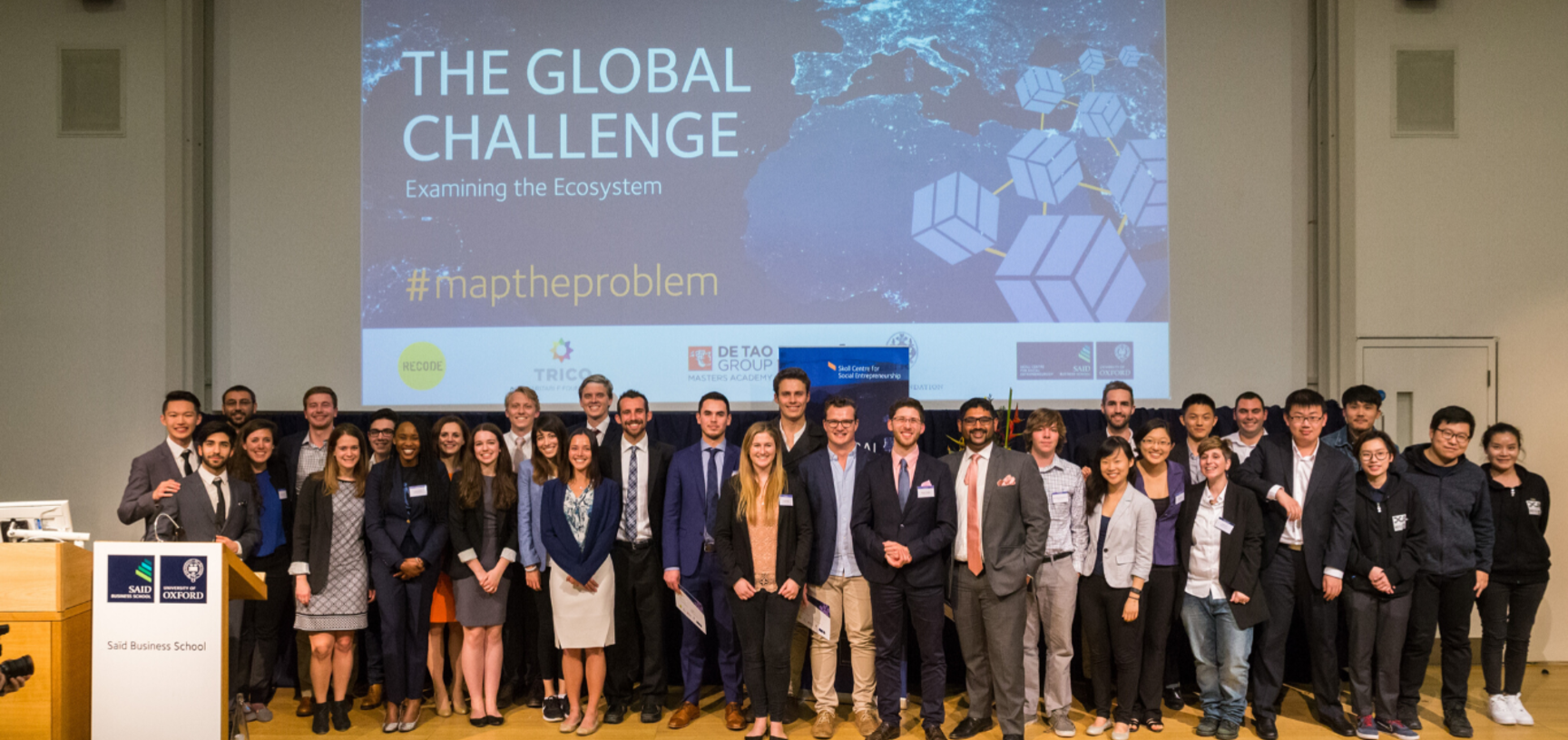 Educators, Teams and Judges of Map the System 2017 group photo