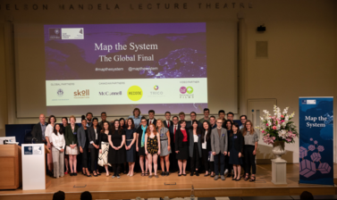 Educators, Teams and Judges of Map the System 2018 group photo